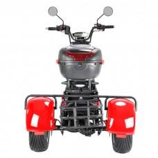 Электроскутер Citycoco WS-PRO+ Trike 3000w 21Ah - Красный