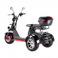 Электроскутер Citycoco WS-PRO+ Trike 3000w 21Ah - Черный