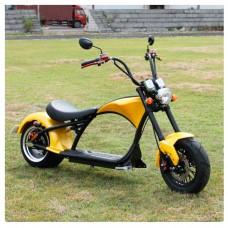 Электроскутер Citycoco Harley Chopper 2000W - желтый